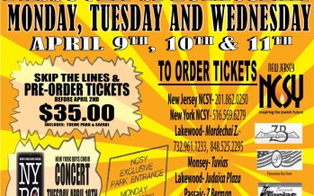 NCSY Presents Six Flags Chol Hamoed Passover Spectacular