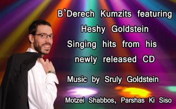 B'Derech Kumzits featuring: HESHY GOLDSTEIN
