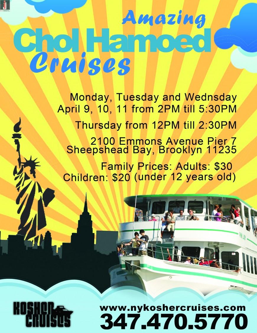Amazing Chol Hamoed Cruises