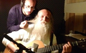 Lipa & Yitzchak Fuchs working in the studio