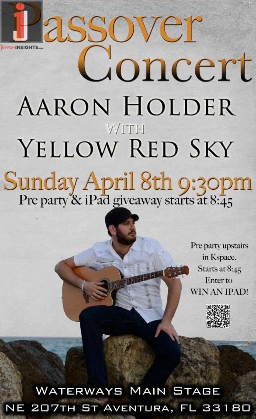 Passover Concert with Aaron Holder & Yellow Red Sky