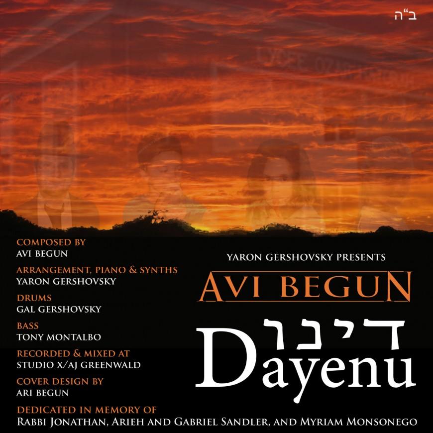 Avi Begun – Dayenu single