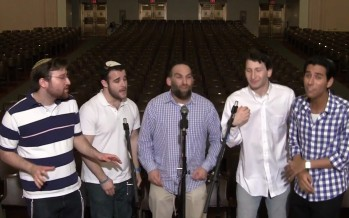"Jewish a cappella group Shir Soul – ""Salaam"" recorded LIVE on Yom Ha'atzma'ut at YU"