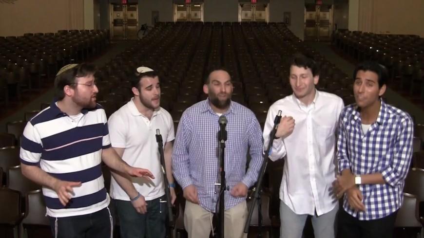"Jewish a cappella group Shir Soul – ""Salaam"" recorded LIVE on Yom Ha'atzma'ut at YU"