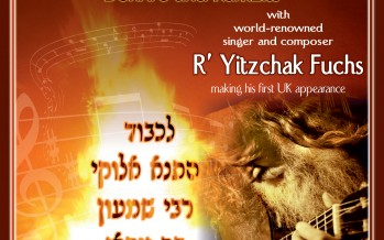Lag BaOmer  Bonfire & Kumzits with Yitzchak Fuchs in London