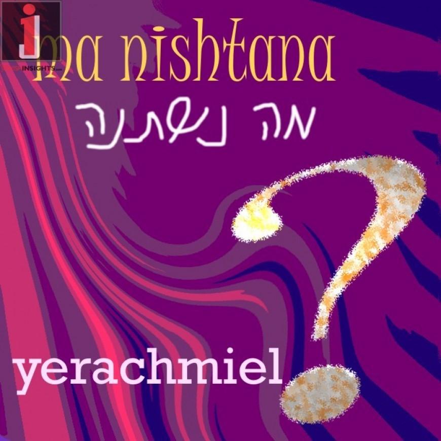 "Yerachmiel Releases New A capella Single ""Ma Nishtanah"""