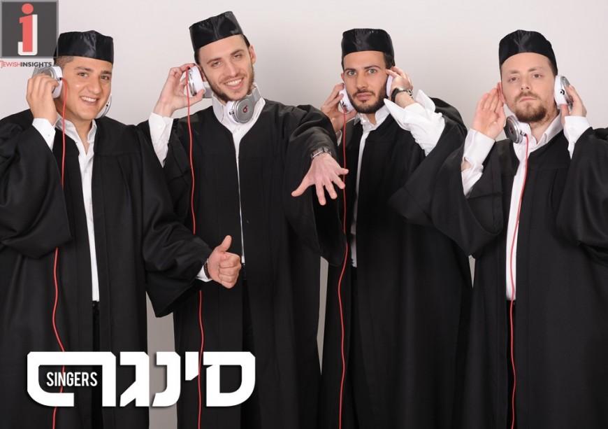 "SINGERS Release Second Acapella Single ""Hishbati"""
