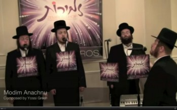 Zemiros Choir with Shloime Taussig Live-In Sefira!
