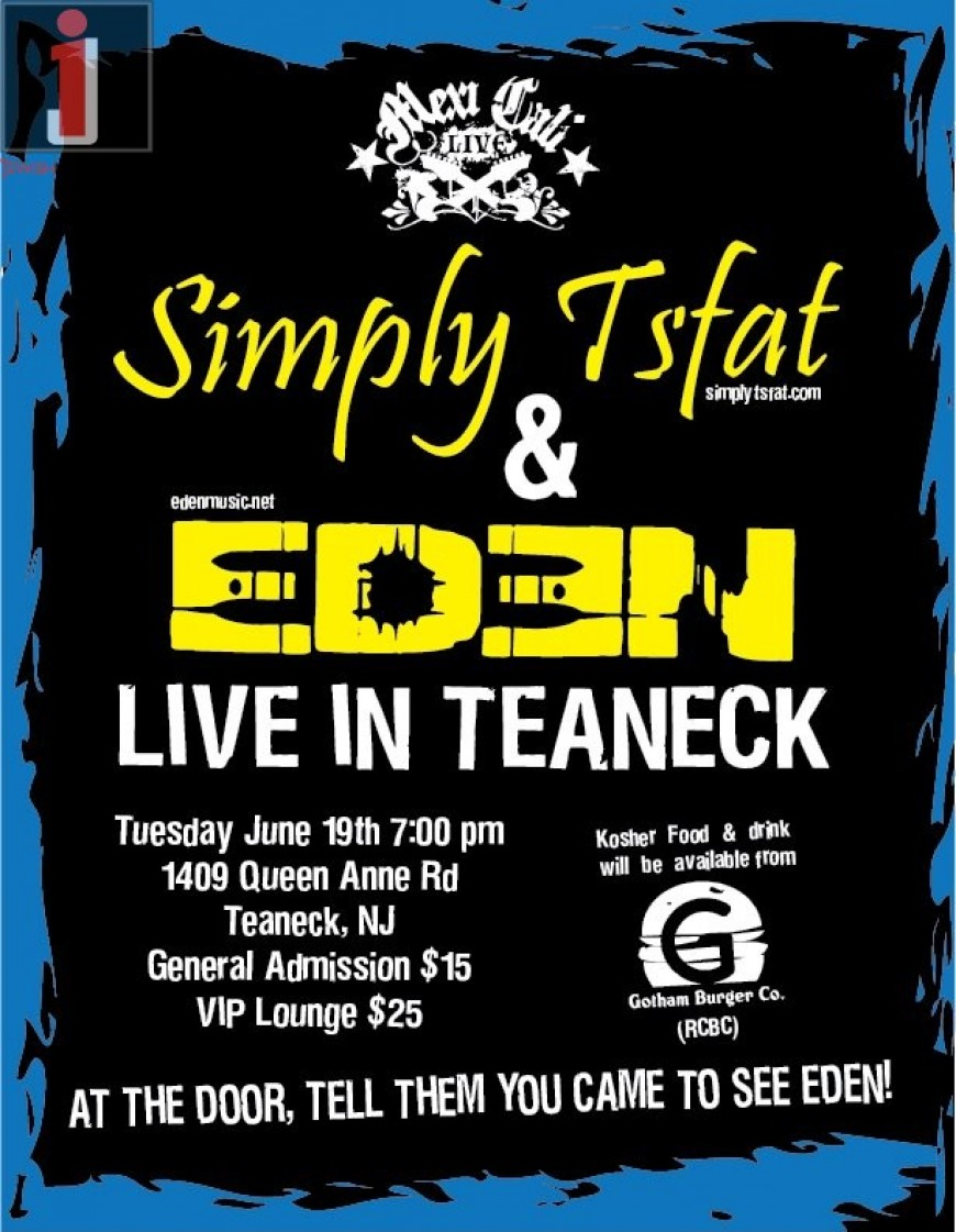EDEN at Mexicali Live with Simply Tsfat