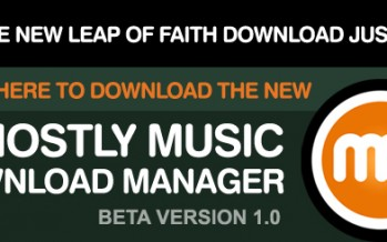 Mostly Music Launches All New Music Downloader! Get Lipa's Leap of Faith Just $9.99!