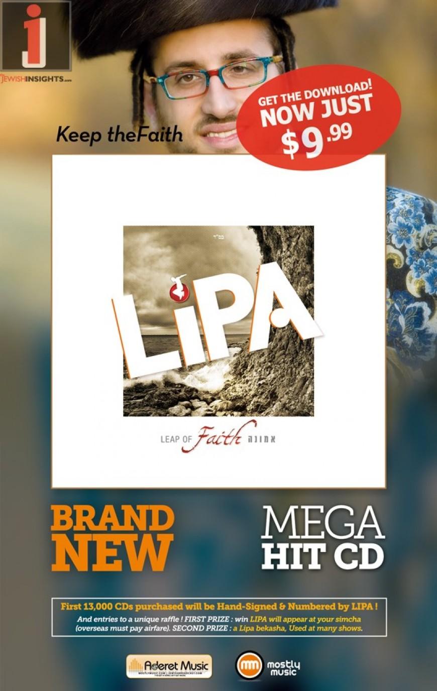 Take The Leap of Faith + Audio Sampler + All New Lipa Website