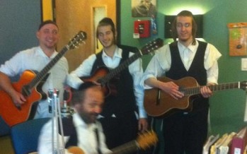 Nachum Segal Hosts Yehuda Green Live at JM in the AM