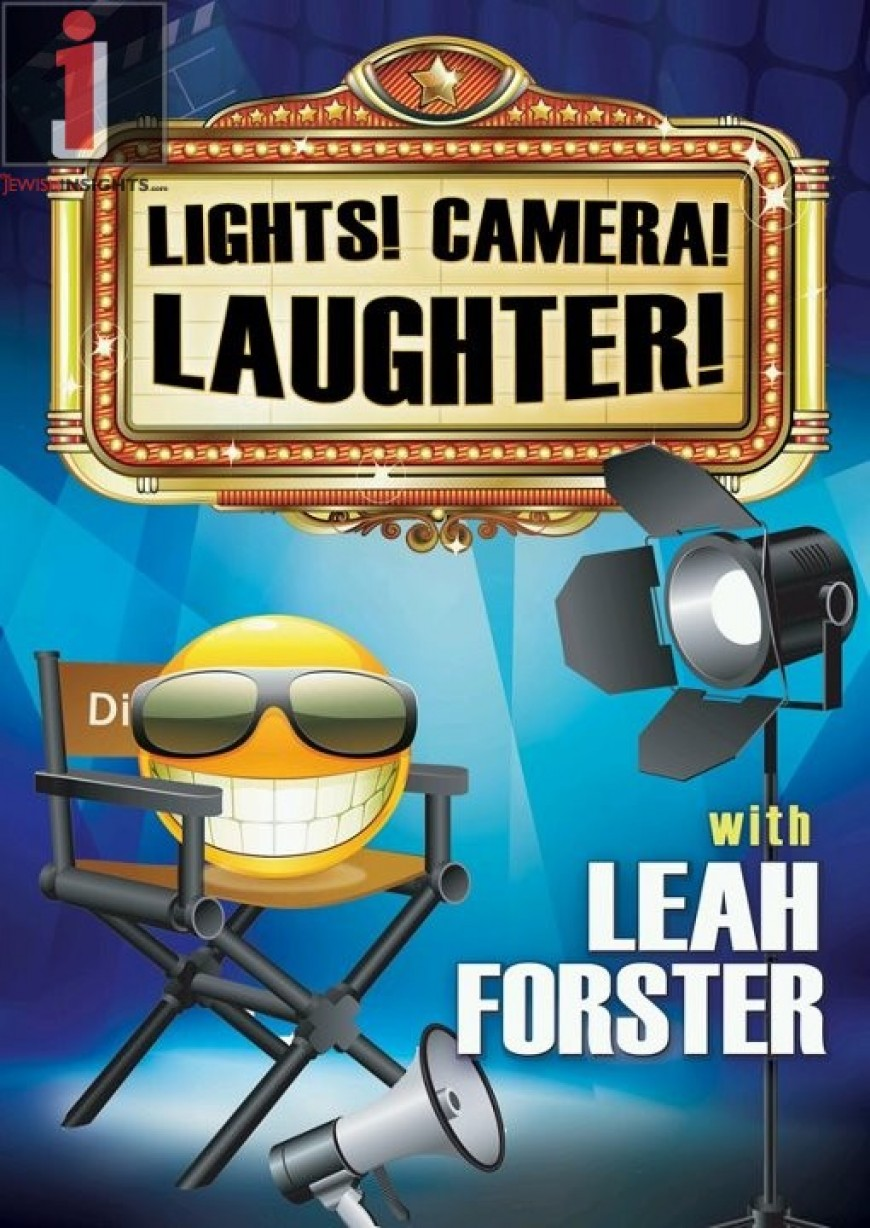 Leah Forster Releases All New DVD: Lights! Camera! Laughter!