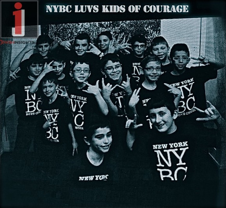 """Kids of Courage"" New York Boys Choir feat. Dovid Moskovits Music Video"