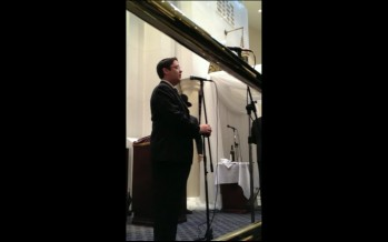 Yonatan Shlagbaum Singing Mi Adir At A Recent Wedding