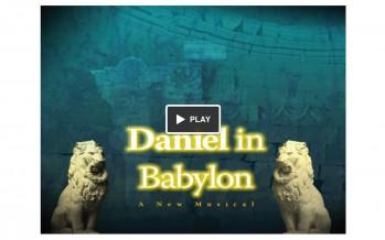 Lenny Solomon presents: Daniel in Babylon – A New Musical!