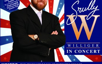 FREE Srully Williger Concert At Kutshers