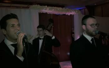 Avi Perets & Yumi Lowy Singing A Chuppa