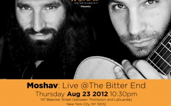Mandel Entertainment presents MOSHAV: Live @ the Bitter End