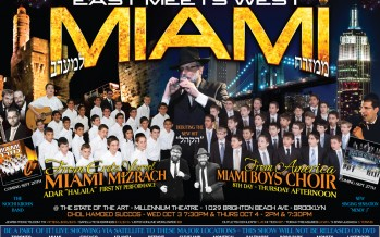 MIAMI SUCCOS HISTORIC SHOWS- EAST MEETS WEST
