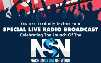 The Nachum Segal Network Launch Party