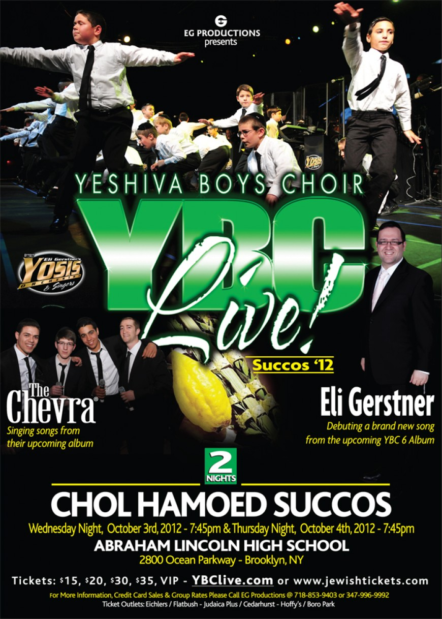 YBC LIVE! SUCCOS 2012