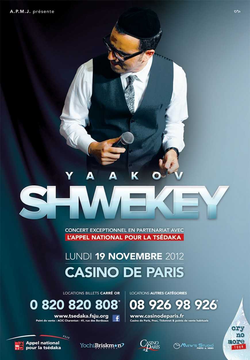 YAAKOV SHWEKEY – CRY NO MORE TOUR