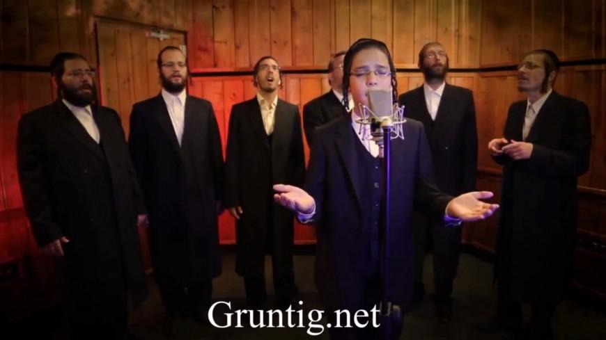 Child Soloist Yanky Stern With Choir – Parnassah