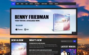 BennysMusic.com Launches Brand New Website!