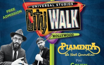 Chabad of the Valley presents:Chanukah Universal Studios CityWalk with 8th DAY, PIAMENTA The Next Generation & More