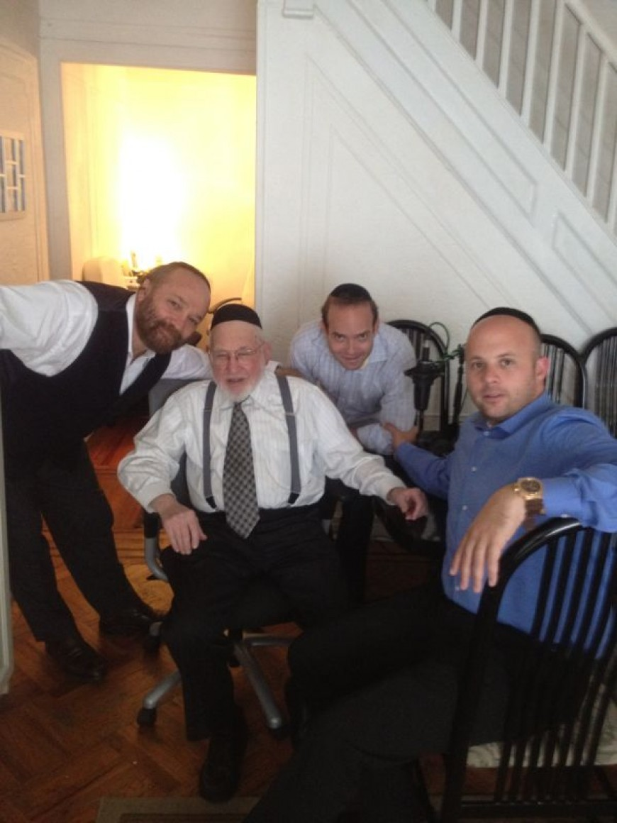 Yehuda Green Radio Interview With Menachem Toker In Radio Kol Chai
