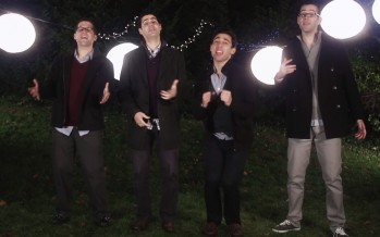 "Introducing: StandFour ""Eight Nights"" Chanukkah Mashup"