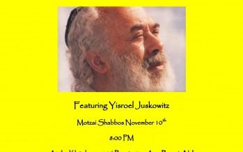 Motzai Shabbos Carlebach Concert