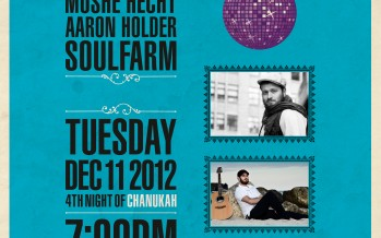 Chanukah Music Festival in Miami With Aaron Holder, Moshe Hecht & Soulfarm