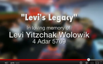 Musical Tribute Released in Memory of Levi Yitzchak Wolowik