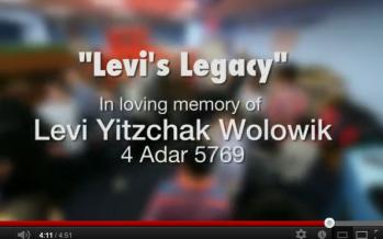 Musical Tribute Released in Memory of Levi Yitzchak Wolowik