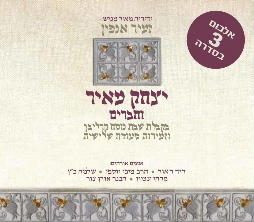 """Zeir Anfin"" Yitzchak Meir & Friends Make Shabbos In Middle of The Week"