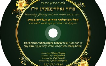 Shloime Taussig – Besoiros Toivos [FREE DOWNLOAD]