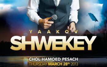 Yaakov Shwekey In Miami Beach