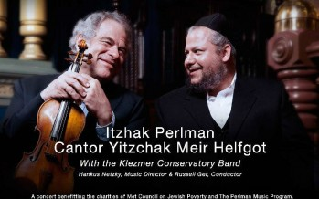 ETERNAL ECHOES: Helfgot & Peralman at The Barclays Center