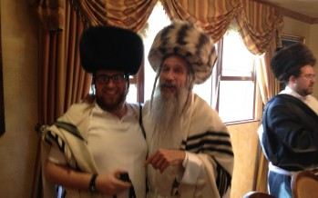 MBD & Zevi Fried on Purim in LA