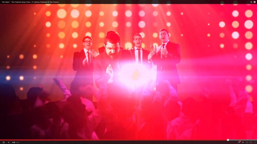 """Ad Olam"" The Yeshiva Boys Choir Feat. Benny Friedman Special Appearance by The Chevra"
