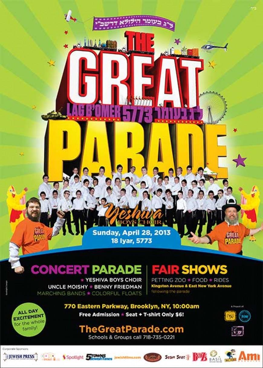 """Parade Paradin"" – The Great Parade Promo Video – 5773. """