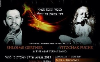 Lag BaOmer Bonfire & Kumzits with Shloime Gertner & Yitzchak Fuchs in London: