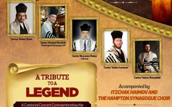 An Evening with Reb Yossele 80th Yahrtzeit with Stark, Hershtik, Muller, Lemmer & Rosenfeld