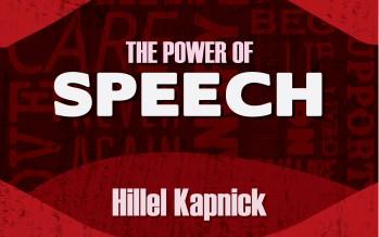 "Hillel Kapnick Releases New Single ""The Power Of Speech"""