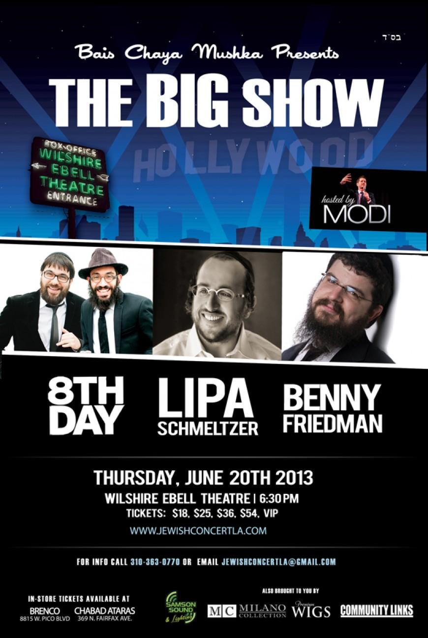 "LA Prepares for Bais Chaya Mushka's ""BIG Show""!"