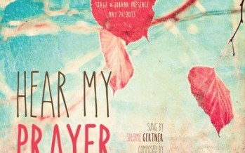 Shloime Gertner Releases All New Single – Hear My Prayer