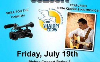 Shua Kessin & THE HARMONICS BAND Live @ Camp Shalom