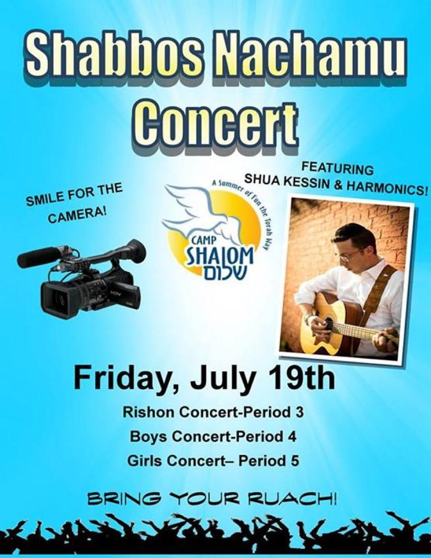 Shua Kessin & THE HARMONICS BAND Live @ Camp Shalom